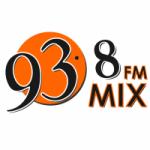 Logo da emissora Radio Mix 93.8 FM