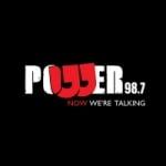 Logo da emissora Radio Power 98.7 FM