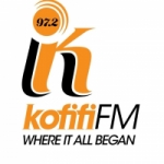 Logo da emissora Radio Kofifi 97.2 FM