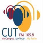 Logo da emissora Radio CUT 105.8 FM