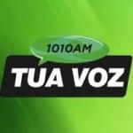 Logo da emissora Rádio Tua Voz 1010 AM