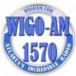 Logo da emissora WIGO 1570 AM