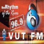 Logo da emissora Vut Radio 96.9 FM