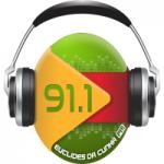 Logo da emissora Rádio Euclides da Cunha 91.1 FM
