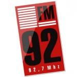 Logo da emissora Rádio 92 FM 92.7