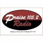Logo da emissora Radio Praise 105.2 FM