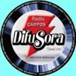 Logo da emissora Rádio Campos Difusora 850 AM