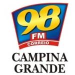 Logo da emissora Rádio 98 FM Correio