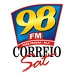 Logo da emissora Rádio 98 Correio FM