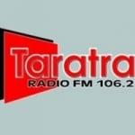 Logo da emissora Radio Taratra 106.2 FM
