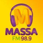 Logo da emissora Rádio Massa 98.9 FM