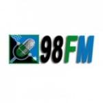 Logo da emissora Rádio 98 FM Congonhal