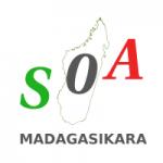 Logo da emissora Radio Soa i Madagasikara