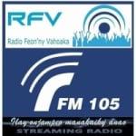 Logo da emissora Radio Feon'ny Vahoaka 105.0 FM