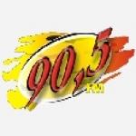 Logo da emissora Rádio 90.5 FM