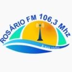Logo da emissora Rádio Rosário 106.3 FM