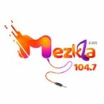 Logo da emissora Radio Mezkla 104.7 FM