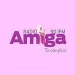 Logo da emissora Radio Amiga 90.1 FM