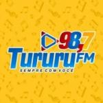 Logo da emissora Rádio Tururu 98.7 FM