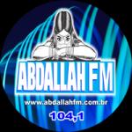 Logo da emissora Rádio Abdallah 104.1 FM