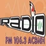 Logo da emissora Rádio ACBNH 106.3 FM