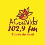 Logo da emissora Rádio A Cor da Vida 102.9 FM