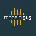 Logo da emissora Rádio Modelo 91.5
