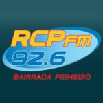 Logo da emissora Rádio RCP 92.6 FM