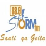 Logo da emissora Radio Storm 88.9 FM