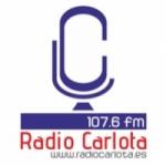 Logo da emissora Radio Carlota 107.6 FM