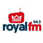 Logo da emissora Radio Royal 94.3 FM