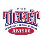 Logo da emissora WJLG 900 AM The Ticket