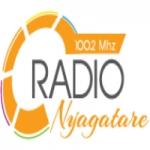 Logo da emissora Radio Nyagate 95.5 FM