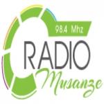 Logo da emissora Radio Musanze 98.4 FM