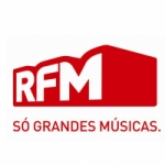 Logo da emissora Rádio RFM 93.2 FM