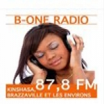 Logo da emissora Radio B-One 87.8 FM