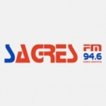 Logo da emissora Rádio Sagres 94.6 FM