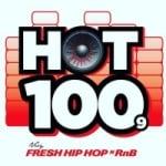 Logo da emissora Radio Hot 100.9 FM