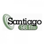 Logo da emissora Rádio Santiago 98.0 FM
