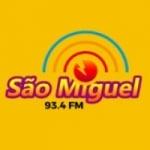 Logo da emissora Rádio São Miguel 93.5 FM