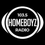 Logo da emissora Homeboyz Radio 103.5 FM