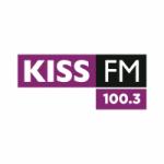 Logo da emissora Radio Kiss 100.3 FM