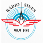 Logo da emissora Rádio Sines 95.9 FM