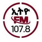 Logo da emissora Radio Ethio 107.8 FM