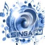 Logo da emissora Rádio Singa 104.0 FM