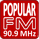 Logo da emissora Rádio Popular 90.9 FM