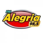 Logo da emissora Rádio Alegria