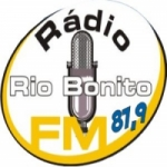 Logo da emissora Rádio Rio Bonito 87.9 FM