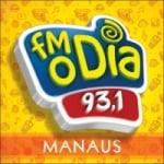 Logo da emissora Rádio FM O Dia 93.1 FM