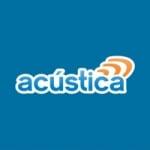 Logo da emissora Rádio Acústica 97.7 FM